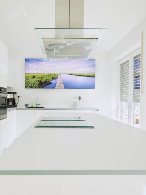Immobilien Aufnahme einer Kücheninsel der Firma MEDA
